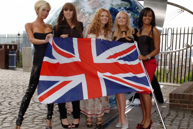 English girls celebrating out of the European Union