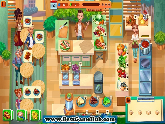 Baking Bustle CE HD Games Full Version