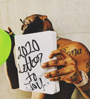 """DMW/30B Gang boss Davido official drops his first song of the year 2020 and he titled the new song """"2020 Letter To You"""" produced by Vsix."""