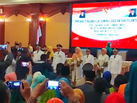 <b>Gubernur NTB Lantik LUTFI-FERI, Walikota dan Wakil Walikota Bima Periode 2018-2023</b>