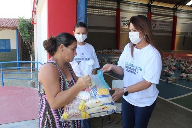 Prefeitura incrementa ações de segurança alimentar durante pandemia