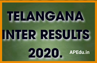 TS BIE TS Inter Results 2020 LIVE Updates: