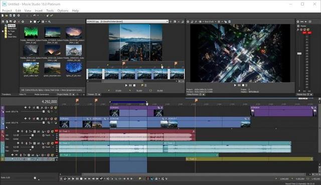 Screenshot MAGIX VEGAS Movie Studio Platinum 16.0 Build 142 Full Version