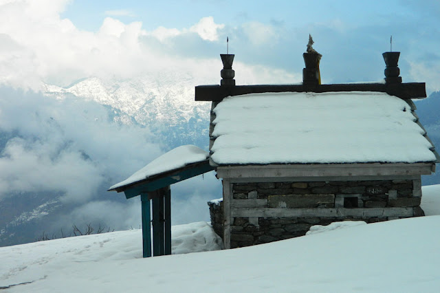 bijali mahadev mandir in winter season