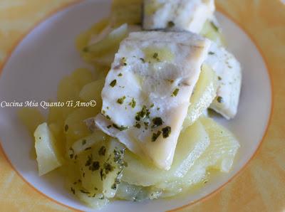 Orata e patate in vasocottura