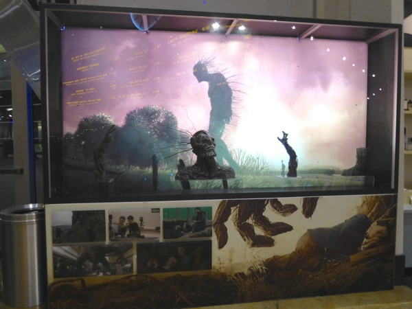 A Monster Calls movie exhibit ArcLight Hollywood