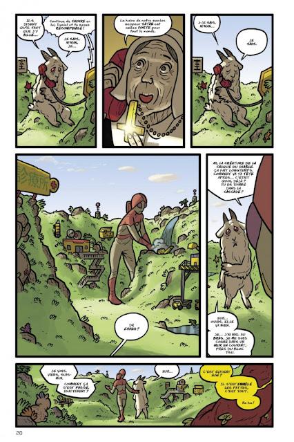 Kaijumax Livre II de Zander Cannon aux éditions Bliss Comics page 20
