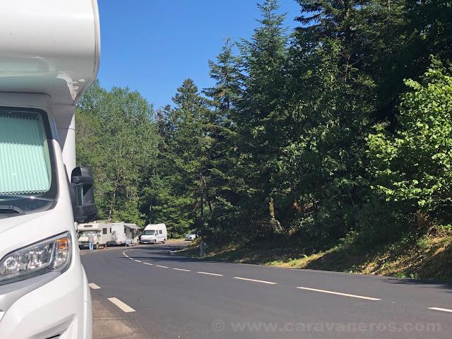 Preparados para ver el Tour en el Ballon d'Alsace | Alsacia y la Selva Negra en autocaravana