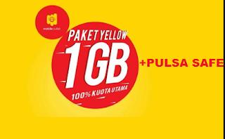 pulsa safe indosat paket yellow