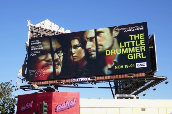 Little Drummer Girl series premiere billboard