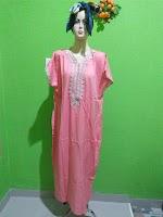 Jual Daster Arabian Lengan Pendek Pink Terbaru di Tasikmalaya