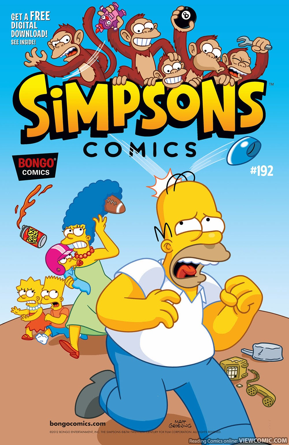 simpsons | Viewcomic reading comics online for free 2019