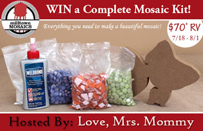 Enter the Family Fun Complete Mosaic Kit Giveaway. Ends 8/1