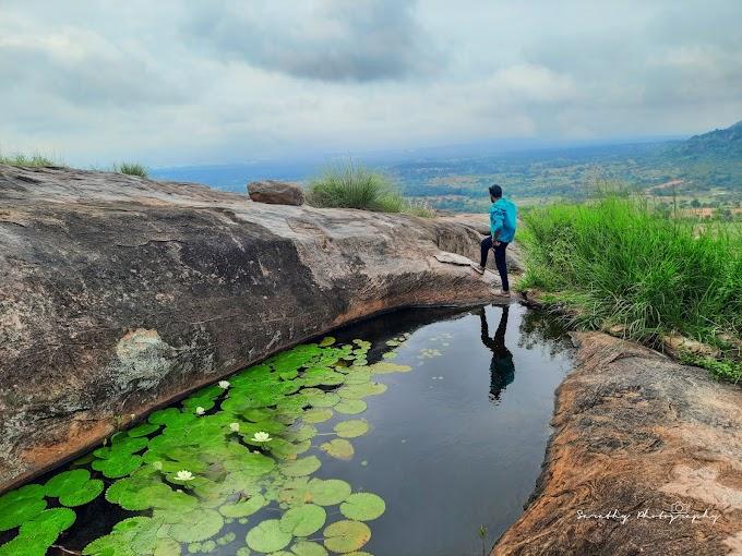 The Bold Bairaveshwara Betta and Annahalli Lake