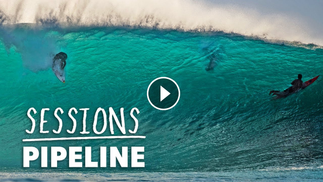 Pipeline Opens Up The North Shore Winter Season In Firing Fashion Sessions