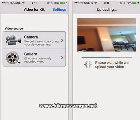 Envía videos cortos y al instante a tus amigos con Video for Kik