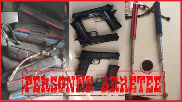 الأمن يحجز 7 عصي كهربائية صاعقة و4 مسدسات بلاستيكية داخل منزل بسلا