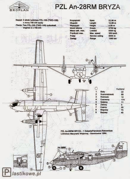 airplane scale modelkit  pzl m