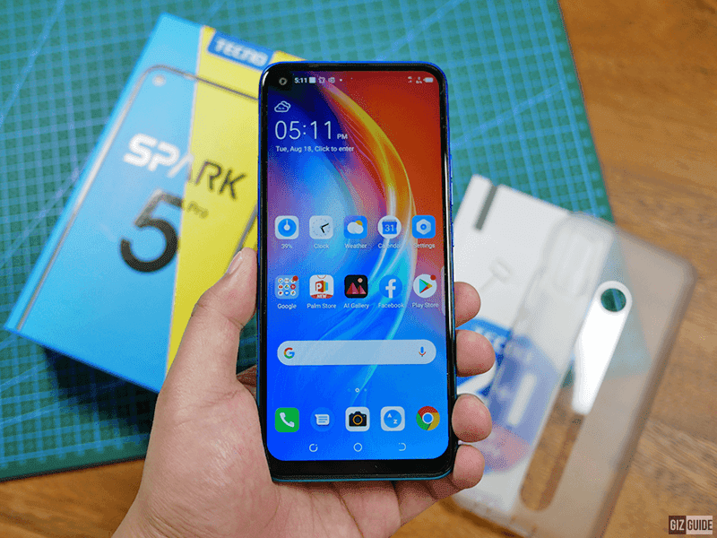The budget phone with a big display