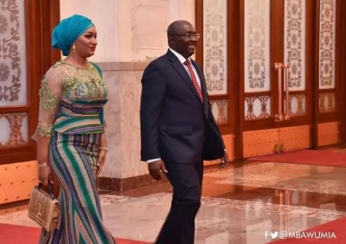 Bawumia couldn't propose directly when we first met - Samira Bawumia
