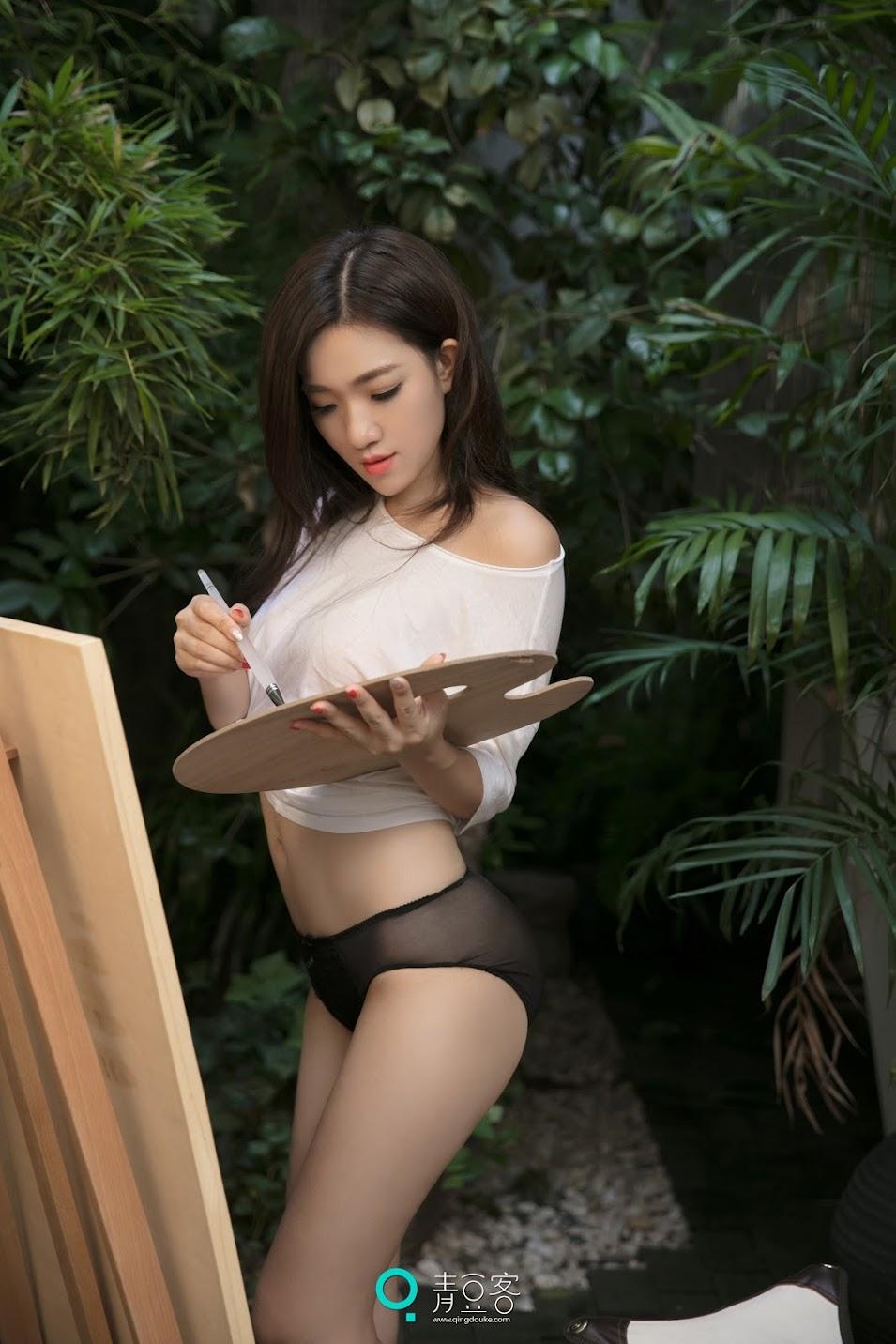 QingDouKe青豆客 NO099 2017.09.24 小青 [50+1P-176M]