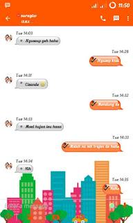 BBM Orange versi 2.12.0.9 APK