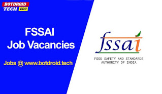 fssai recruitment 2021 apply online, notification, salary details