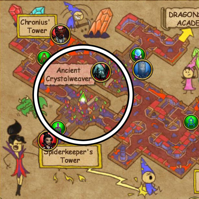 Dragonspyre Zeke Quest Guide: Stone Roses | Wizard101