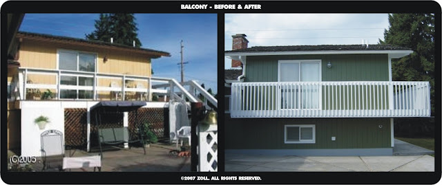©2007 Zoll - balcony before and after