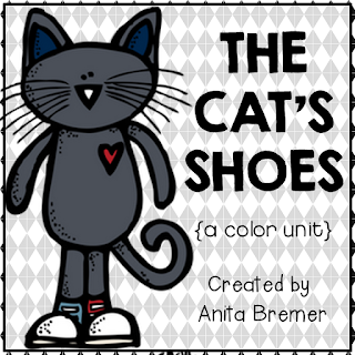 Color word activity centers for Kindergarten- perfect to go with Pete the Cat