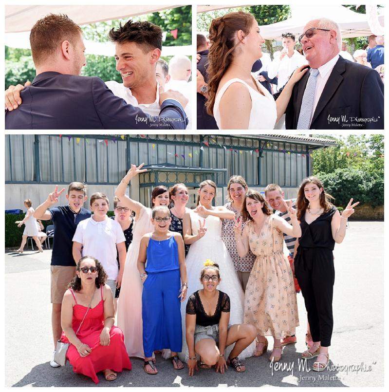 photographe photos de groupes fun famille mariage vendée 85