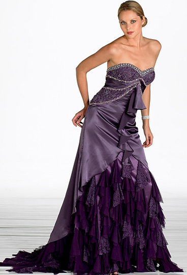 D Shade'z: Perfect Purple Gowns