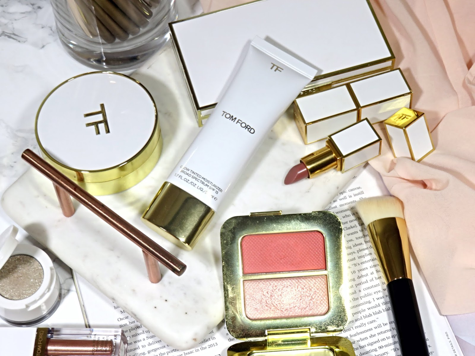 Tom Ford Glow Tinted Moisturizer SPF 15 Review and Swatches