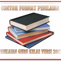 Contoh Format Administrasi Penilaian Guru Kelas