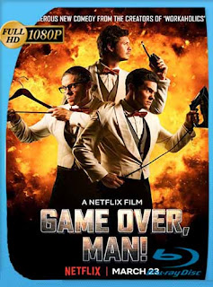 Game Over, Man! (2018) HD [1080p] Latino [GoogleDrive] SilvestreHD