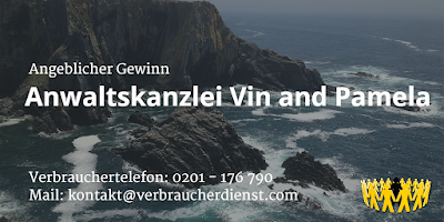 Angeblicher Gewinn | Anwaltskanzlei Vin and Pamela