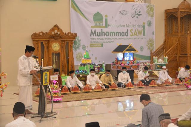 Pimpinan dan Anggota DPRD Hadiri Peringatan Maulid Nabi Muhammad SAW
