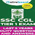 SSC CGL Last 5 Years Polity Question  Solve Paper Download