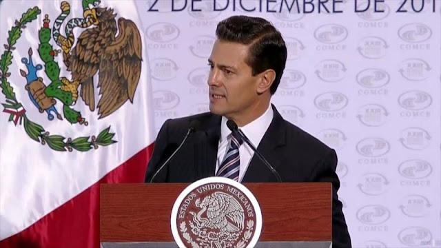 Peña Nieto: México enfrentará retos con el Gobierno de Trump