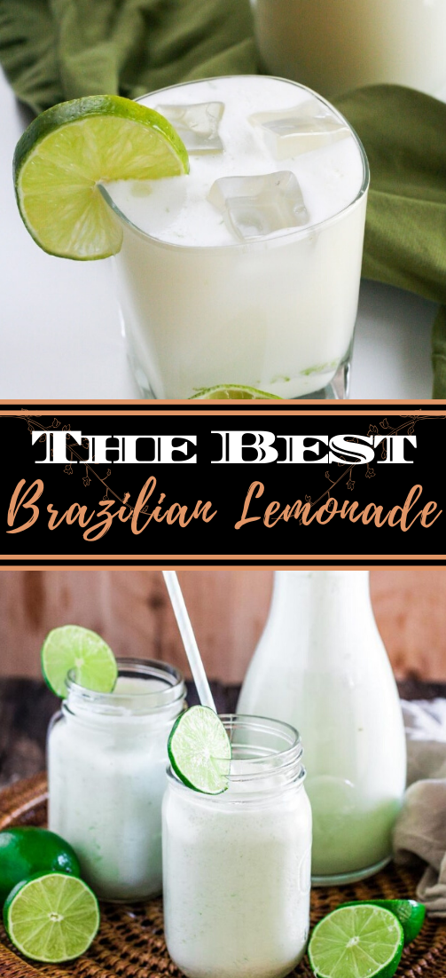 Brazilian Lemonade  #healthydrink #easyrecipe #cocktail #smoothie