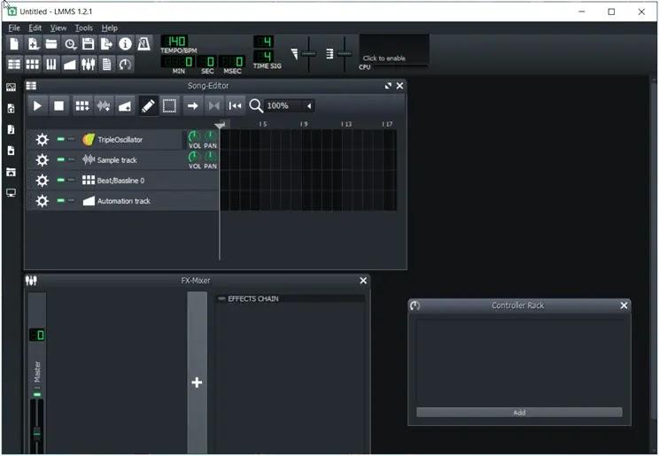LMMS :  Δημιουργήστε μουσική με τον υπολογιστή σας
