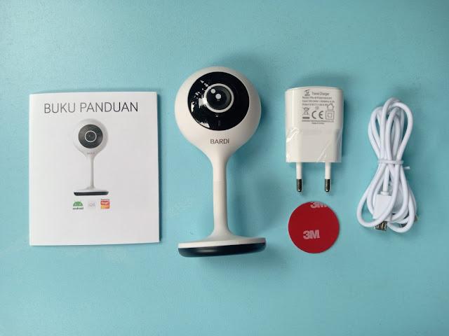 paket bardi smart indoor static ip camera