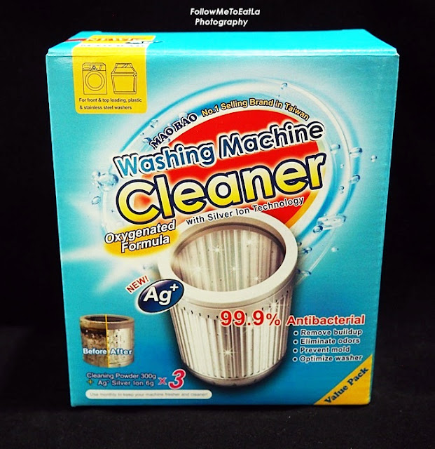MAO BAO Washing Machine Cleaner By Schelly Promo Price of RM 25 per box (NRP: RM33.90)