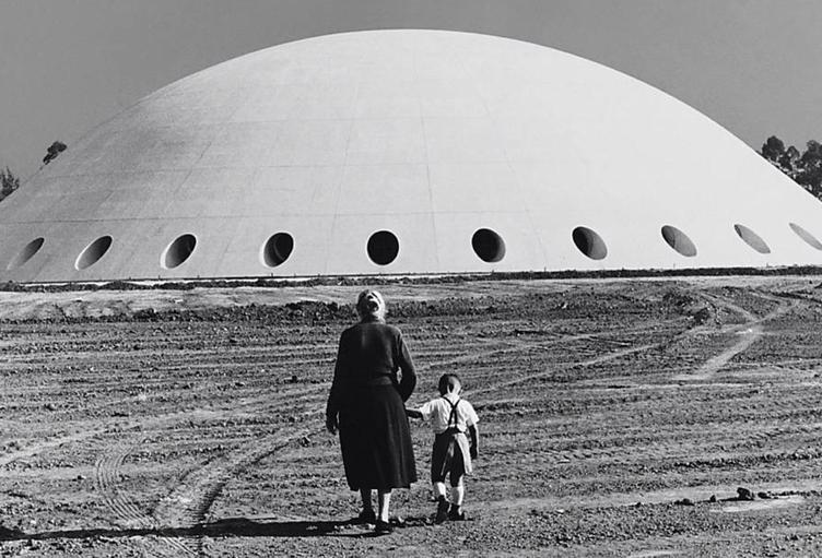 Oca, Ibirapuera, 1954. Foto de German Lorca.