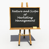 Definition of Marketing, Definition of Management, Nature and Scope of Marketing Management