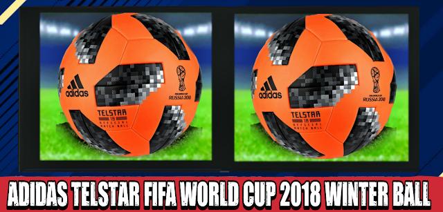 d968a18a2 Adidas Telstar FIFA World Cup 2018 Winter Ball - PES PSP