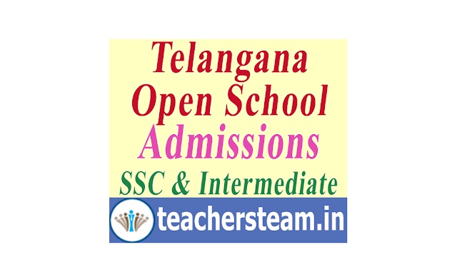 Telangana Open School Admissions in to SSC and Intermediate
