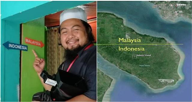 Rumah Ini Memiliki Dapur yang Terletak di Malaysia dan Ruang Tamunya Berada di Indonesia