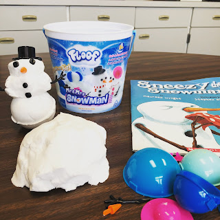 Floof is a fun way to play with snow in the classroom or speech therapy room.