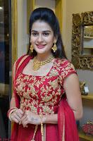 Jenny Honey in Stunning Dark Red Anarkali Dress at Splurge   Divalicious curtain raiser ~ Exclusive Celebrities Galleries 058.JPG